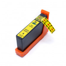 Cartucho de Tinta Compatível com LEXMARK 100XL 105XL 108XL - Amarelo 11,5ml