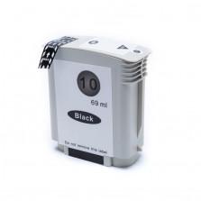 Cartucho de Tinta Microjet Compatível com HP 10 - Preto 69ml
