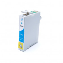 Cartucho de Tinta Compatível com EPSON TO1402 TX620FWD TX560WD T42WD - Ciano 17ml