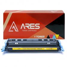 TONER COMPATÍVEL COM HP Q6002A 2600 AMARELO 2K ARES
