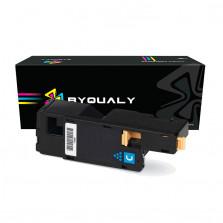 Toner Byqualy Compatível com XEROX 6010 6000 6015 106R01631 - Ciano 1.4K
