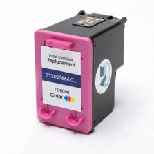 CARTUCHO DE TINTA COMPATÍVEL COM HP 664XL COLOR 12ML