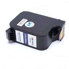 Cartucho de Tinta Microjet Compatível com HP 6578 - Colorido 19ml