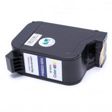 Cartucho de Tinta Microjet Compatível com HP 1823 6625 - Colorido 30ml