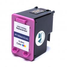 Cartucho de Tinta Microjet Compatível com HP 662XL - Colorido 10ml