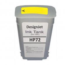Cartucho de Tinta Compatível HP 72 Amarelo 130ml