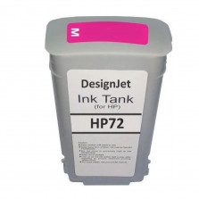 Cartucho de Tinta Compatível HP 72 Magenta 130ml