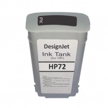 Cartucho de Tinta Compatível HP 72 Preto Foto 130ml