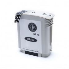 Cartucho de Tinta Compatível com HP 82 CH565A - Preto 69ml