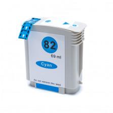 Cartucho de Tinta Compatível com HP 82 C4911A - Ciano 69ml