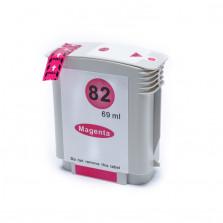 Cartucho de Tinta Compatível com HP 82 C4912A - Magenta 69ml