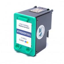 Cartucho de Tinta Microjet Compatível com HP 93XL - Colorido 12ml
