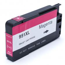 Cartucho de Tinta Compatível com HP 951XL - Magenta 28ml