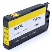 Cartucho de Tinta Compatível com HP 951XL - Amarelo 28ml