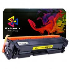Toner Byqualy Compatível com HP CF512A 204A M180NW - Amarelo 0.9K