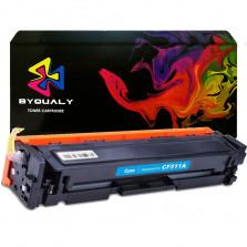 Toner Byqualy Compatível com HP CF511A 204A M180NW - Ciano 0.9K