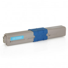 Toner Byqualy Compatível com OKIDATA C310 C310DN C330 C331 C510DN - Ciano 3K