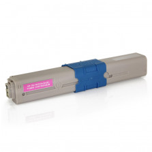 Toner Byqualy Compatível com OKIDATA C310 C310DN C330 C331DN C510DN - Magenta 3K