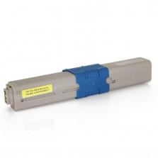 Toner Byqualy Compatível com OKIDATA C310 C310DN C330 C331 C510DN - Amarelo 3K