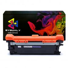 Toner Compatível HP cp3525 m575 - ce252a ce402a Amarelo 7k - BYQUALY