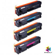 KIT TONER HP 204A CF510 CF511 CF512 CF513 BYQUALY