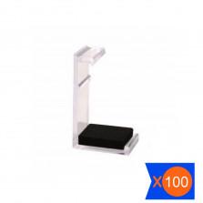 CLIP CRISTAL SÉRIE 3000 PACOTE COM 100
