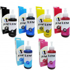 Kit Tinta Sublimática EcoTank XFull 6 Cores 100ml