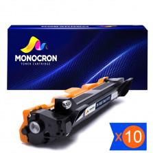 KIT 10 TONER TN1000 TN1060 MONOCRON