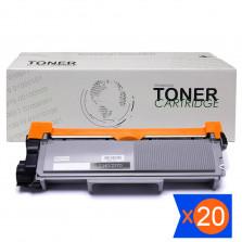 Kit 20 Toner TN2340 TN660 2.6K Compatível
