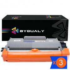 Kit 3 Toner TN450 BYQUALY