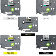 Kit Fita Rotuladora TZE 12MM PT-H100 PT-H110 X-FULL