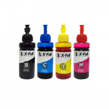 KIT TINTA ECOTANK EPSON KIT COM 4 CORES 100ML