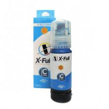Tinta Xfull 504 544 para EPSON ECOTANK L4150 L4160 L6171 L6161 L6191 - Ciano 70ml