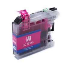 CARTUCHO DE TINTA BROTHER LC103XL LC105XL LC107XL MAGENTA 14ML COMPATÍVEL