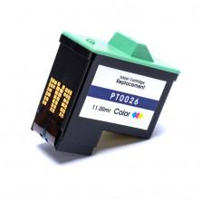 Cartucho de Tinta Microjet Compatível com LEXMARK 26 10N0026 - Colorido 11ml