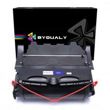 Toner Byqualy Compatível com LEXMARK T650 T654 T652 T656 - 25K