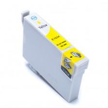 Cartucho de Tinta Compatível com EPSON TO1034 T40W TX600FW TX550W - Amarelo 14ml