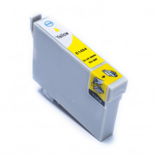 Cartucho de Tinta Compatível com EPSON TO1404 TX620FWD TX560WD T42WD - Amarelo 17ml