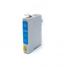 Cartucho de Tinta Compatível com EPSON TO822 R270  R390  RX590 - Ciano 12ml