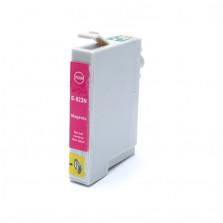 Cartucho de Tinta Compatível com EPSON TO823 R270  R390  RX590 - Magenta 12ml