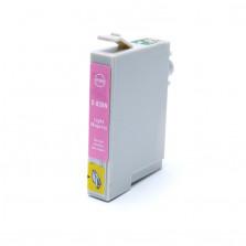 Cartucho de Tinta Compatível com EPSON TO826 R270  R390  RX590  - Light Magenta 12ml