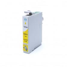Cartucho de Tinta Compatível com EPSON TO824 R270  R390  RX590 - Amarelo 12ml