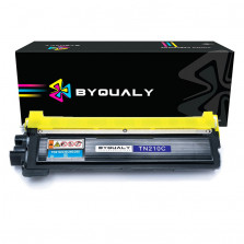 TONER COMPATÍVEL COM BROTHER TN210 CIANO 1.4K HL3040 HL3070 HL8070 BYQUALY