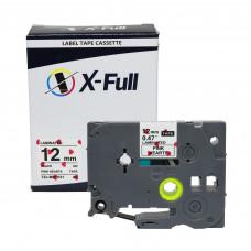 Fita rotuladora TZE-MPPH31 12MM Corações Rosa - X-Full