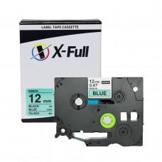 Fita compatível Brother TZe-R531 12MMx4M Azul - X-Full