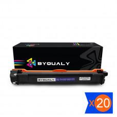 Kit 20 Toner TN1000 TN1060 1K Compatível BYQUALY