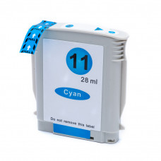 Cartucho de Tinta Compatível HP 11 Ciano 28ml