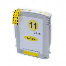 Cartucho de Tinta Compatível HP 11 Amarelo 28ml
