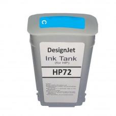 Cartucho de Tinta Compatível HP 72 Ciano 130ml