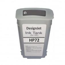 Cartucho de Tinta Compatível HP 72 Cinza 130ml